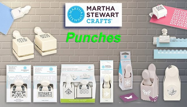 Martha Stewart Punches